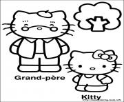 Printable hello kitty 24 coloring pages
