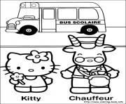 Printable hello kitty 32 coloring pages