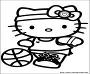 Printable hello kitty 37 coloring pages