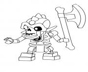 Printable Ninjago Nuckal coloring pages