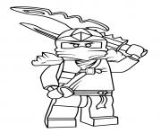 Printable Ninjago Jay coloring pages