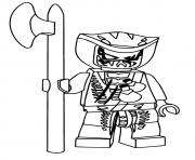 Printable Ninjago Lasha coloring pages