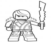Printable Ninjago Sensei Garmadon coloring pages