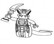 Print Ninjago Acidicus coloring pages