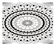 Print mandala adult 2  coloring pages