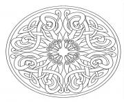 Print mandala adult 7  coloring pages