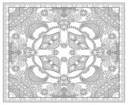 Print adult squared mandala by karakotsya 2  coloring pages