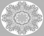 Print adult mandala by karakotsya 1  coloring pages