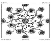 free mandala difficult adult to print 6