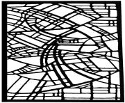 adult stained glass belgique exposition rene mels 1986 coloring pages