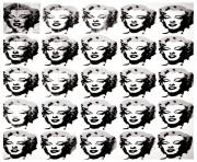 adult warhol marilyn coloring pages