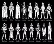 Printable adult characters star wars coloring pages