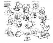 Printable adult mickey mouse coloring pages