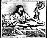 adult confucius et disciples coloring pages