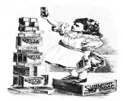 adult vintage ad soap girl coloring pages