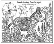 Printable adult ane patterns coloring pages