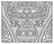 adult zen anti stress to print 11 coloring pages