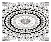 Printable mandala adult 2 coloring pages