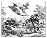 adult engraving giovan battista allegory of geography 1692 coloring pages