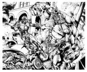 adult comics ironman hulk mattjamescomicarts coloring pages