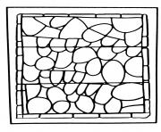 Printable adult stained glass chapelle prieure de bethleem nimes coloring pages