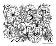 Printable adult difficult 16 coloring pages