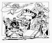 Printable adult xmen coloring pages
