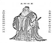 Printable adult confucius coloring pages