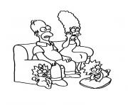 Print simpson tv coloring pages