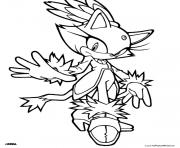 Printable sega sonic dude coloring pages