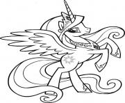 princess celesia my little pony coloring pages