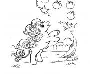 my little pony pinkie pie loves apple coloring pages