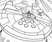 Printable star wars millenium falcon coloring pages