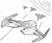 Printable star wars gunship coloring pages