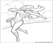 Printable wonder woman 01 coloring pages
