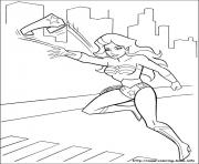 Printable wonder woman 08 coloring pages