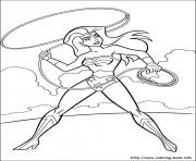 Printable wonder woman 52 coloring pages