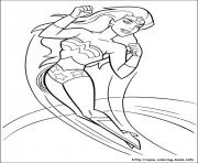 Printable wonder woman 04 coloring pages