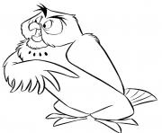 Printable disney owl  preschool26c7 coloring pages