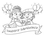 Print happy birthday  disney cartoonf9f2 coloring pages
