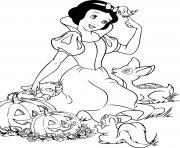 Print snow white free printable halloween  disney8375 coloring pages