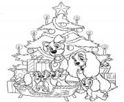 Print disney free christmas  printable7183 coloring pages