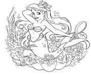 Printable ariel  for girls disney princessc4d2 coloring pages