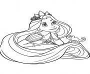 Printable  printable tangled disney58ef coloring pages