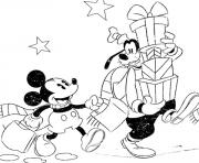 Printable disney  for kids xmas4100 coloring pages
