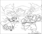 Printable frozen 18 coloring pages