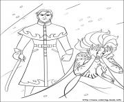 frozen 32 coloring pages