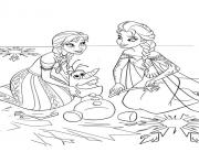 frozen sister550d coloring pages