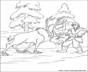 frozen olafe852 coloring pages
