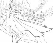 Printable elsa a strong powerful extraordinary woman coloring pages